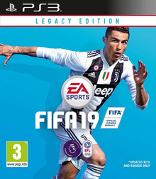 Box art for the game FIFA 19