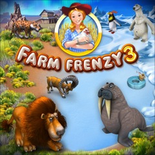 Box art for the game Farm Frenzy 3