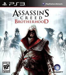 Capa do jogo Assassin's Creed: Brotherhood