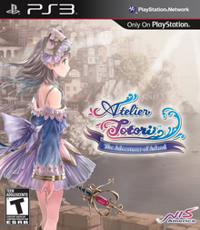 Box art for the game Atelier Totori: The Adventurer of Arland