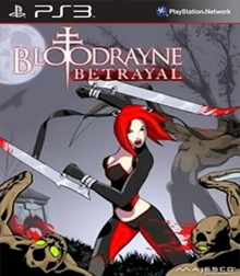 Box art for the game BloodRayne: Betrayal