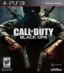 Capa do jogo Call of Duty: Black Ops