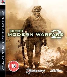 Box art for the game Call of Duty: Modern Warfare 2