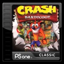 Box art for the game Crash Bandicoot