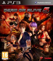 Box art for the game Dead or Alive 5