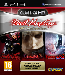 Box art for the game Devil May Cry HD Collection
