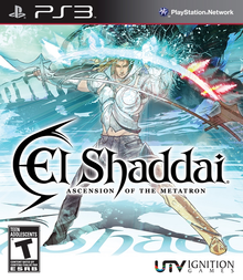 Box art for the game El Shaddai: Ascension of the Metatron