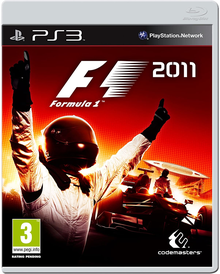 Box art for the game F1 2011