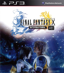 Box art for the game Final Fantasy X HD