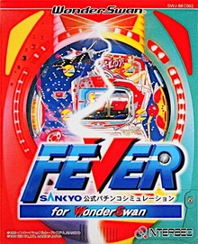 Box art for the game Fever Sankyo Koushiki Pachinko Simulation