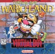Box art for the game Virtual Boy Wario Land