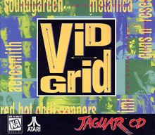 Box art for the game Vid Grid