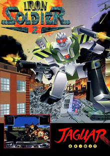 Box art for the game Iron Soldier 2