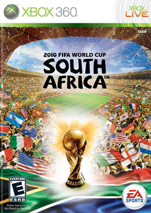 Box art for the game 2010 FIFA World Cup South Africa