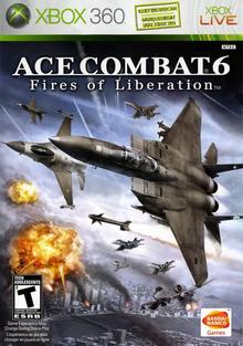 Capa do jogo Ace Combat 6: Fires of Liberation