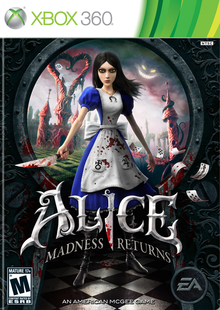 Box art for the game Alice: Madness Returns
