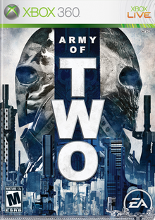 Capa do jogo Army of Two