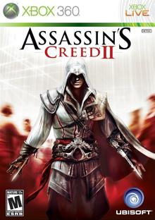 Capa do jogo Assassin's Creed II