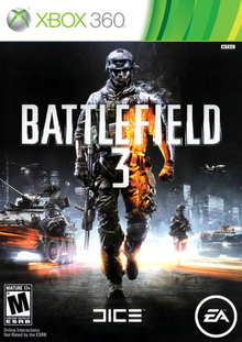 Box art for the game Battlefield 3