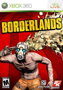 Box art for the game Borderlands