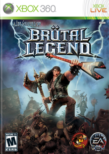 Box art for the game Brutal Legend