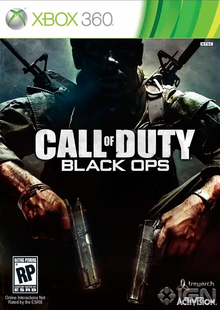 Capa do jogo Call of Duty: Black Ops