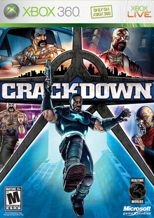 Box art for the game Crackdown
