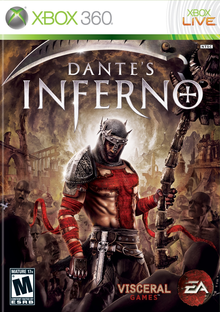 Box art for the game Dante's Inferno