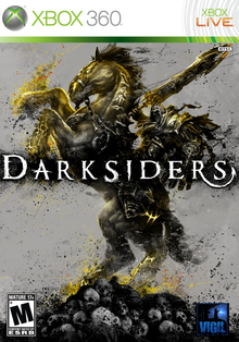 Box art for the game Darksiders