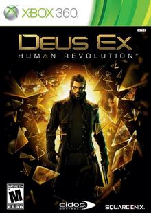 Box art for the game Deus Ex: Human Revolution