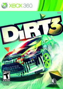 Box art for the game DiRT 3