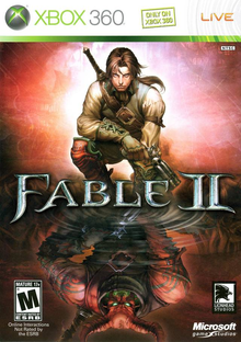 Box art for the game Fable II