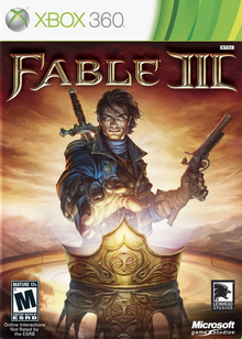 Box art for the game Fable III