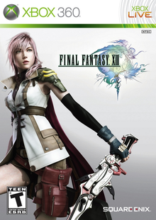 Box art for the game Final Fantasy XIII