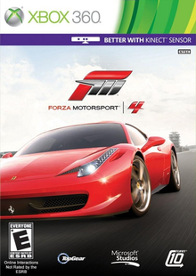 Box art for the game Forza Motorsport 4