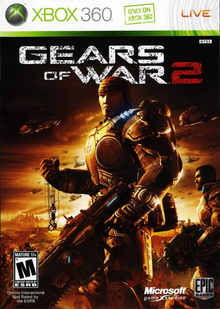 Box art for the game Gears of War 2