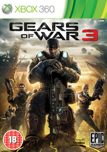 Box art for the game Gears of War 3