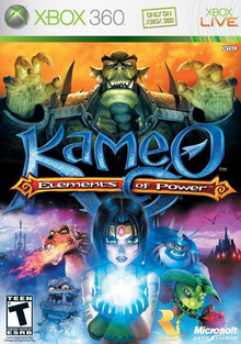 Box art for the game Kameo: Elements of Power