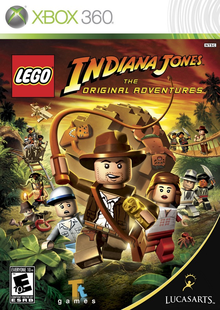 Box art for the game LEGO Indiana Jones: The Original Adventures