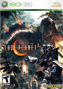 Box art for the game Lost Planet 2