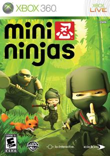Box art for the game Mini Ninjas