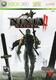 Box art for the game Ninja Gaiden II