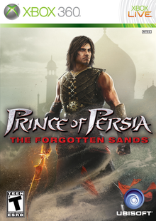 Box art for the game Prince of Persia: The Forgotten Sands