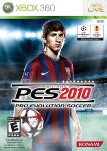 Box art for the game Pro Evolution Soccer 2010