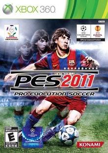 Box art for the game Pro Evolution Soccer 2011