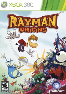 Box art for the game Rayman Origins