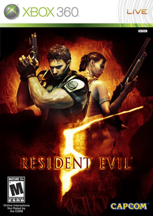 Box art for the game Resident Evil 5