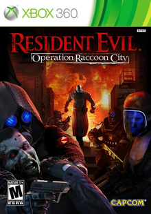 Box art for the game Resident Evil: Operation Raccoon City