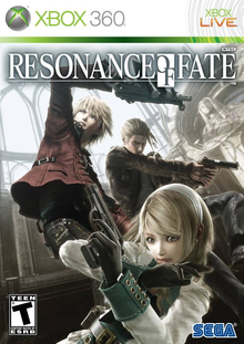 Box art for the game Resonance of Fate
