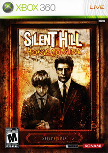 Box art for the game Silent Hill Homecoming